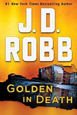 book cover Golden in Death by J. D. Robb