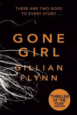 book cover Gone Girl by Gillian Flynn
