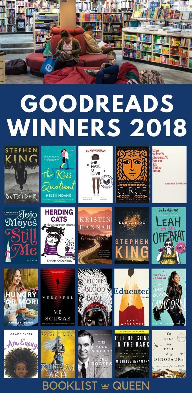 Goodreads Winners 2018