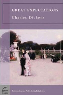 book cover Great Expectations by Charles Dickens
