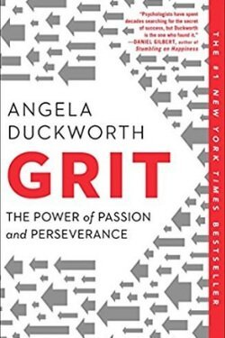 book cover Grit by Angela Duckworth
