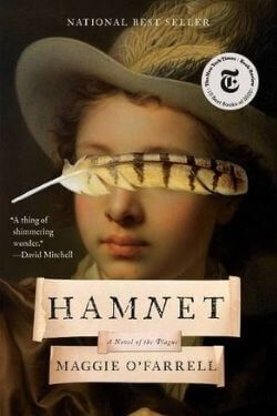 book cover Hamnet by Maggie O'Farrell