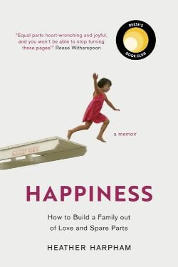 book cover Happiness by Heather Harpham