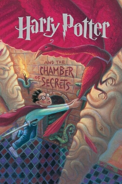 book cover Harry Potter and the Chamber of Secrets by J. K. Rowling