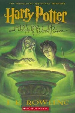 book cover Harry Potter and the Half Blood Prince by J. K. Rowling