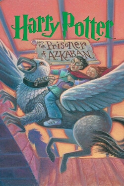 book cover Harry Potter and the Prisoner of Azkaban by J. K. Rowling