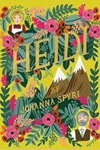 book cover Heidi by Johanna Spyri