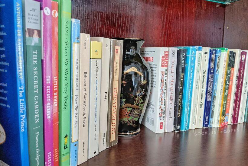 How to Declutter Books - a curated children's classics collection