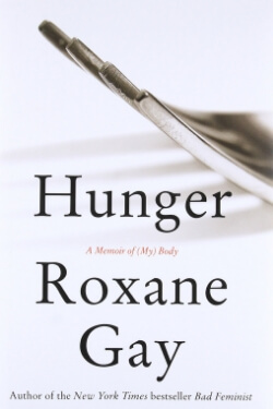 book cover Hunger by Roxane Gay