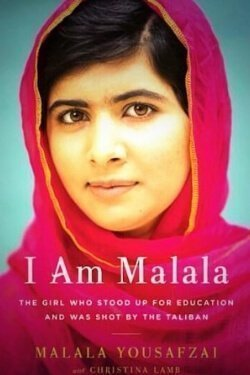 book cover I Am Malala by Malala Yousafzai