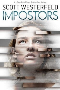book cover Impostors by Scott Westerfeld