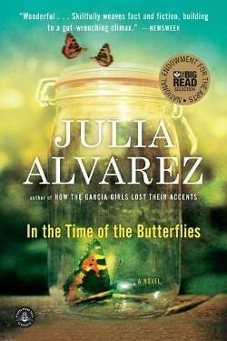book cover In the Time of the Butterflies by Julia Alvarez