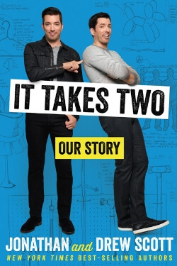 book cover It Takes Two by Jonathan and Drew Scott