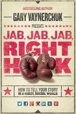book cover Jab, Jab, Jab, Right Hook by Gary Vaynderchuk