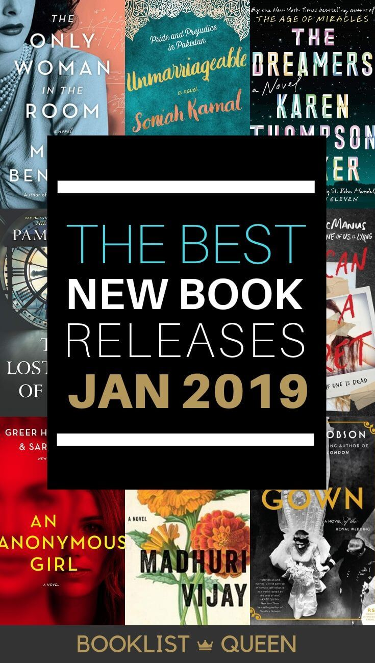 January 2019 Book Releases