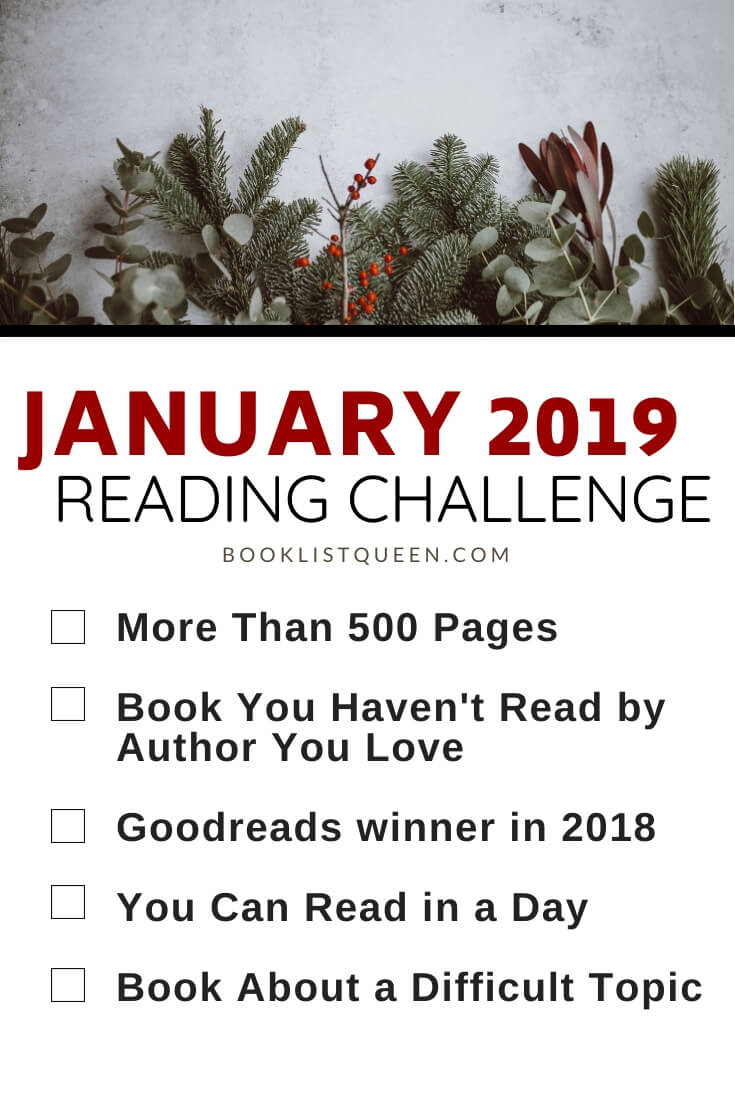 January 2019 Reading Challenge