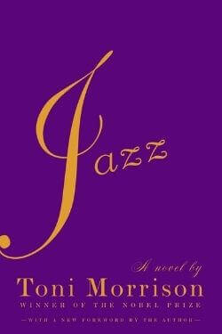 book cover Jazz by Toni Morrison