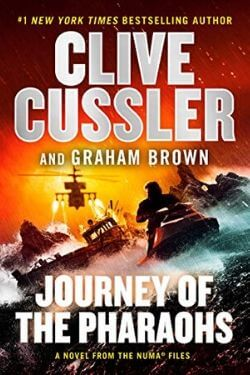 book cover Journey of the Pharaohs by Clive Cussler and Graham Brown