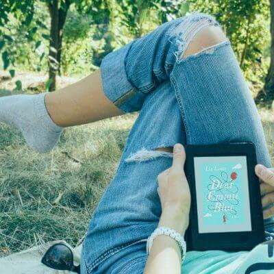girl reading Dear Emmie Blue, July 2020 Book Releases