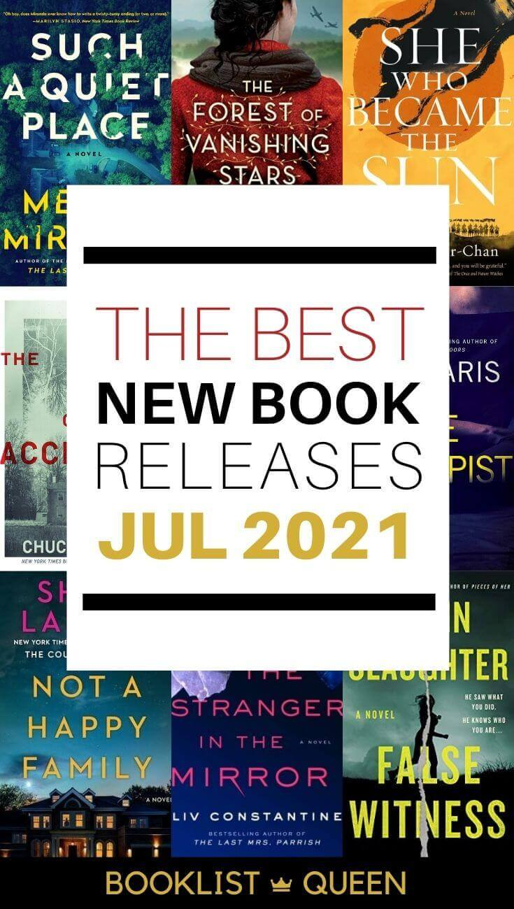 July 2021 Book Releases