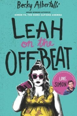 book cover Leah on the Offbeat by Becky Albertalli