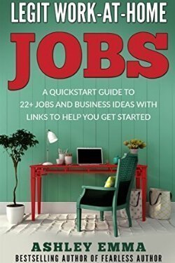 book cover Legit Work at Home Jobs by Ashley Emma