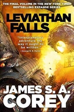 book cover Leviathan Falls by James S. A. Corey