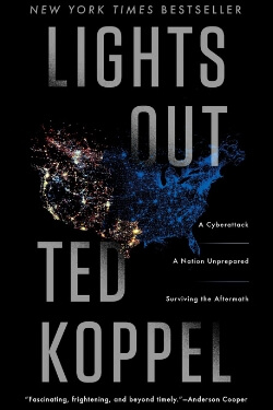 book cover Lights Out by Ted Koppel