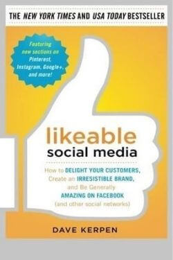 book cover Likeable Social Media by Dave Kerpen