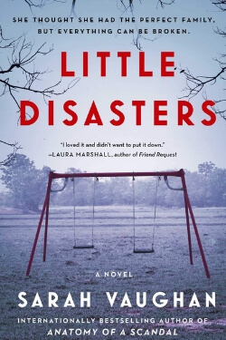 book cover Little Disasters by Sarah Vaughan