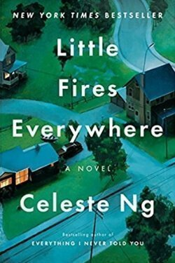 book cover Little Fires Everywhere by Celeste Ng