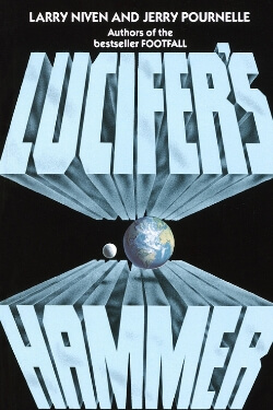 book cover Lucifer's Hammer by Larry Niven and Jerry Pournelle