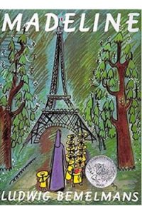 Book cover Madeline by Ludwig Bemelmans