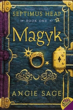 book cover Magyk by Angie Sage