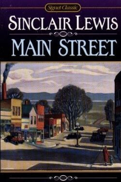 book cover Main Street by Sinclair Lewis