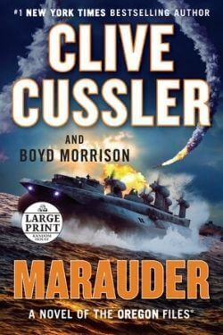 book cover Marauder by Clive Cussler and Boyd Morrison