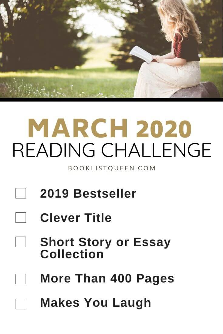 March 2020 Reading Challenge