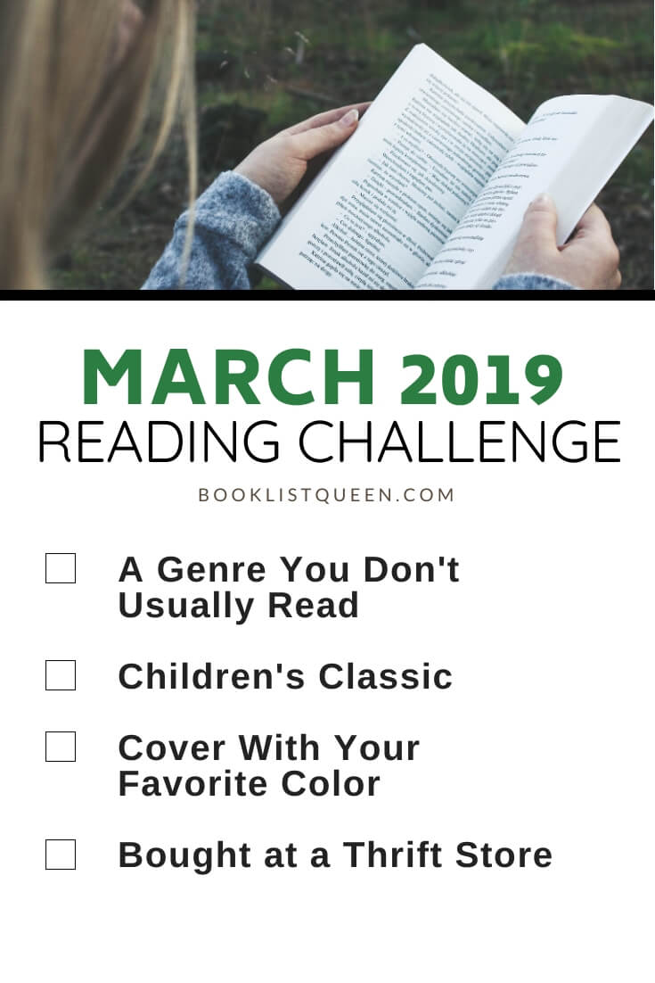 March 2019 Reading Challenge