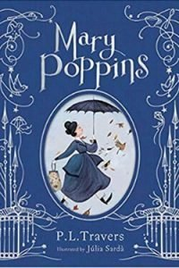 book cover Mary Poppins by P. L. Travers