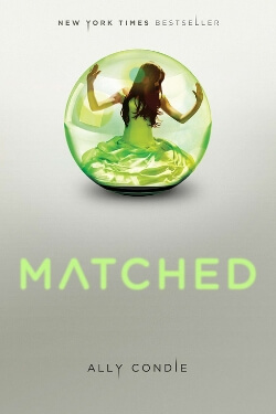 book cover Matched by Ally Condie