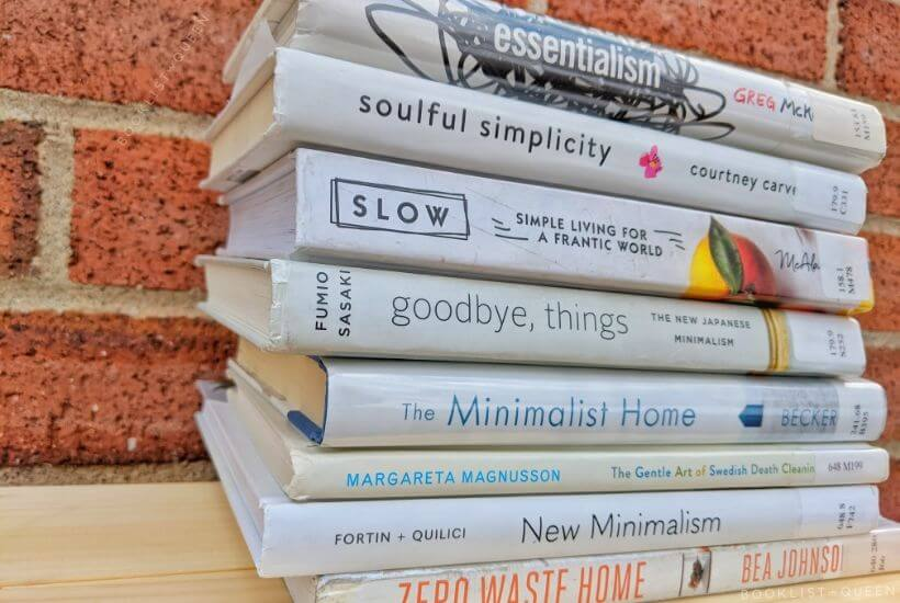 Book stack - Minimalism Books