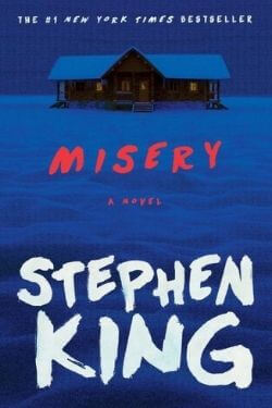 book cover Misery by Stephen King