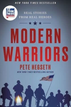 book cover Modern Warriors by Pete Hegseth