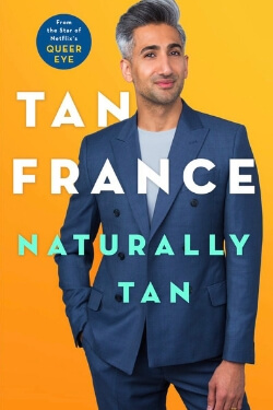 Book cover for Naturally Tan by Tan France