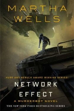 book cover Network Effect by Martha Wells