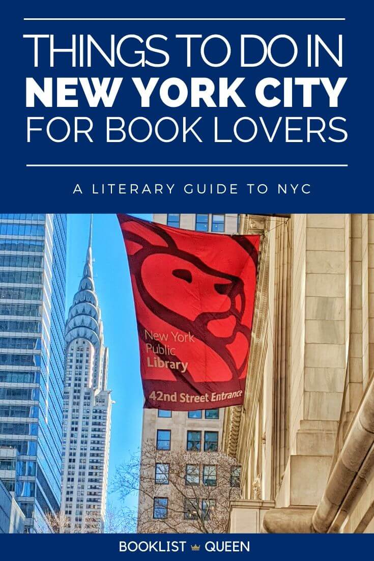 Things to Do in New York City for Book Lovers