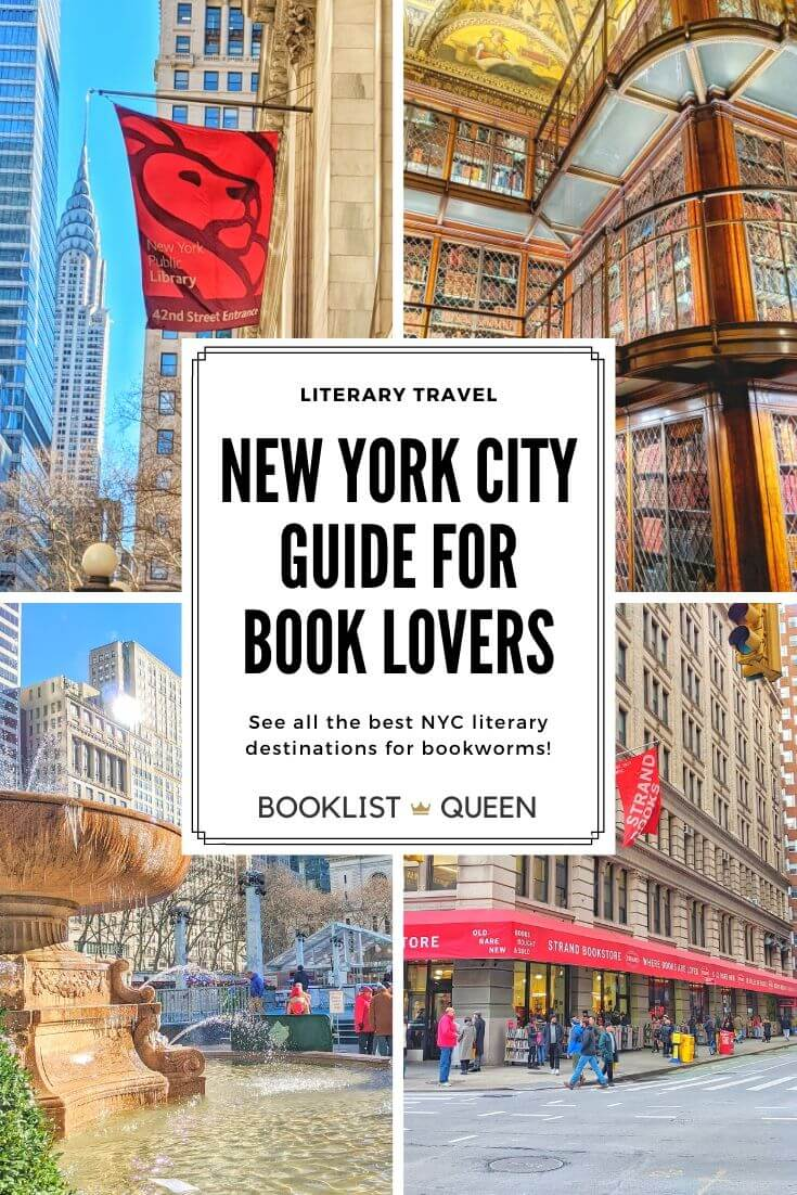 Guide to New York City for Book Lovers