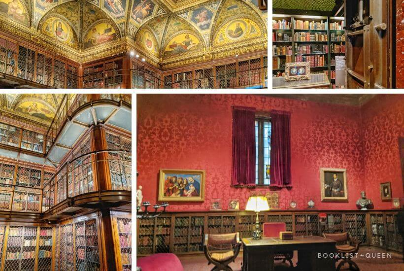 collage - The Morgan Library - New York City for Book Lovers