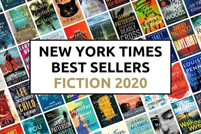 New York Times Fiction Best Sellers 2020
