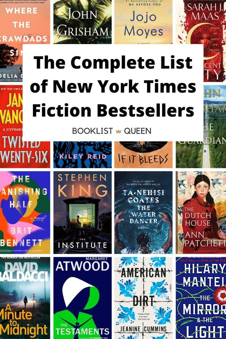 The New York Times Fiction Best Seller List